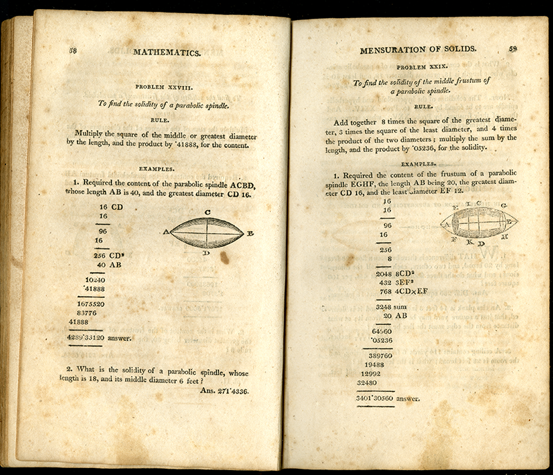 Pages from Webber's Mathematics