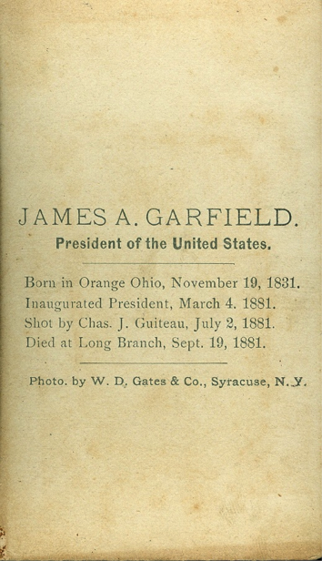Mathematical Treasure: James A  Garfield's Proof of the