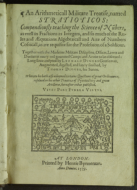 Title page of Stratioticos