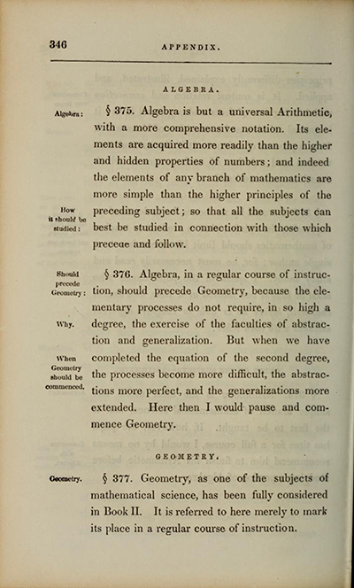Charles Davies, The Logic and Utility of Mathematics, page 346