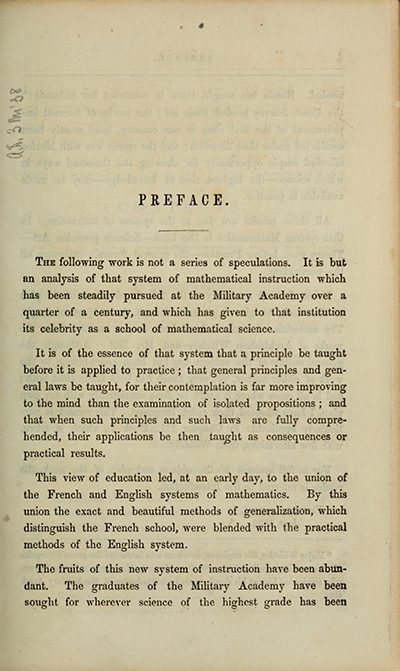 Preface, Charles Davies, The Logic and Utility of Mathematics