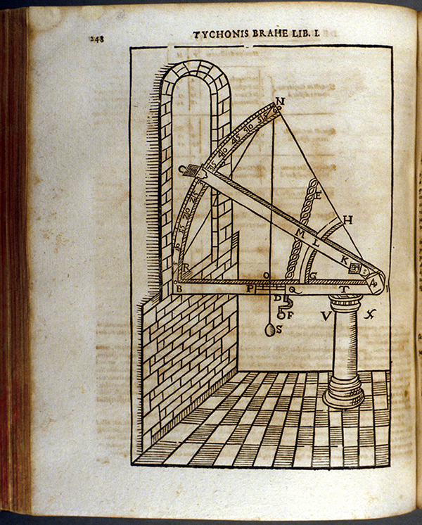 Page 248 of Astronomiae instauratae progymnasmata by Tycho Brahe, 1648