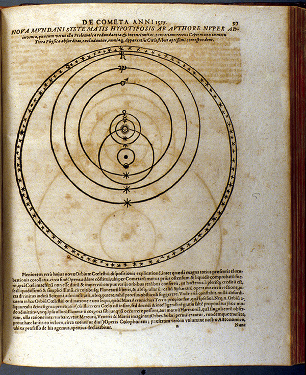 Page 97 of Astronomiae instauratae progymnasmata by Tycho Brahe, 1648