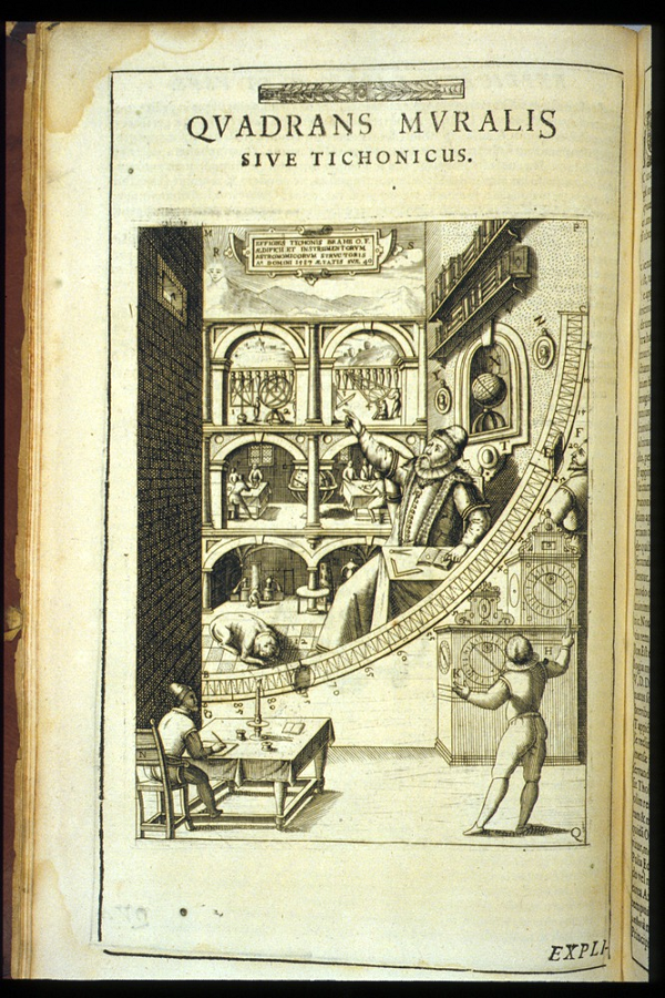 Image of Great Quadrant from Astronomiae instauratae mechanica, 1602