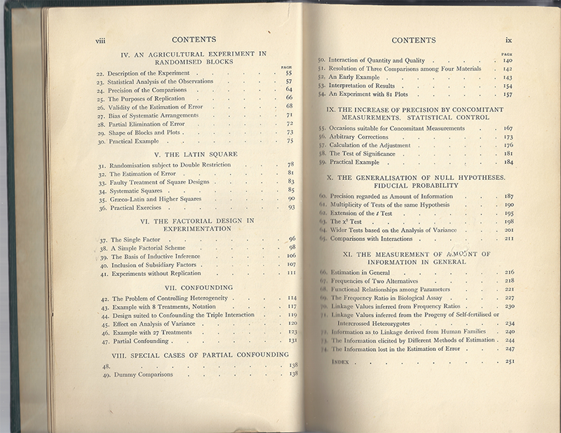 Mathematical Treasure: R  A  Fisher's Statistics Books
