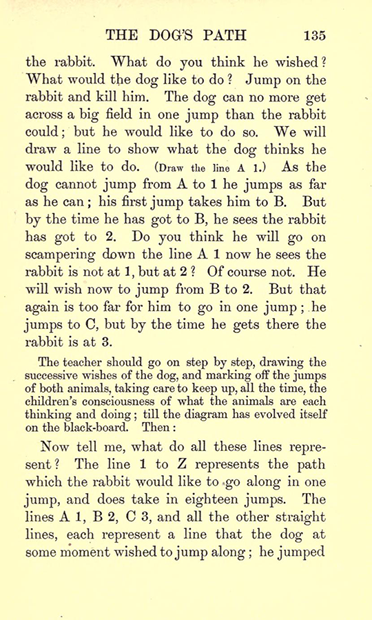 Page 135 from Lectures on the Logic of Arithmetic by Mary Boole, 1903