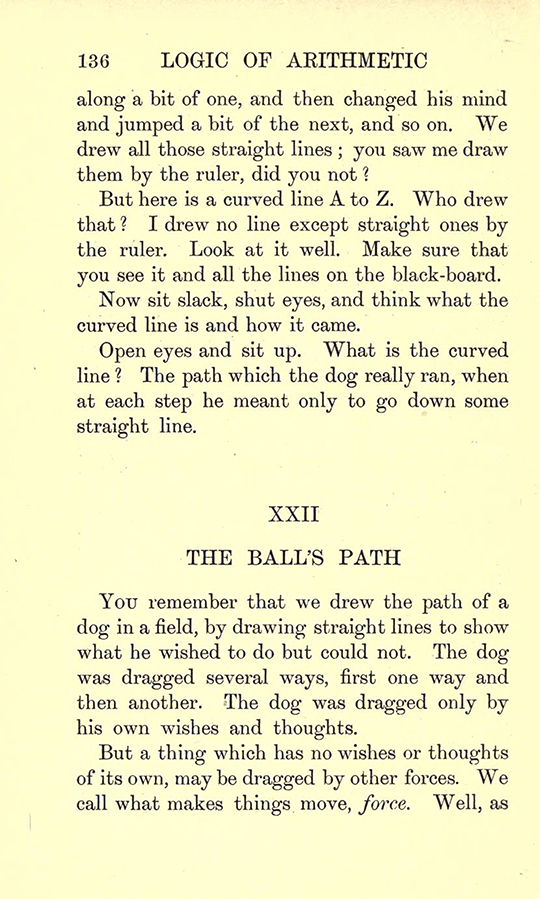 Page 136 from Lectures on the Logic of Arithmetic by Mary Boole, 1903
