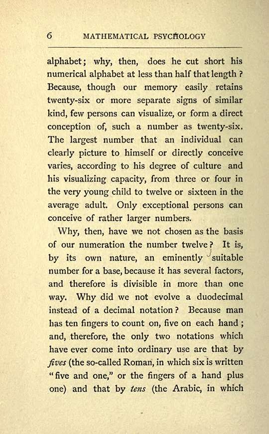 Page 6 from The Mathematical Psychology of Gratry and Boole by Mary Boole, 1897