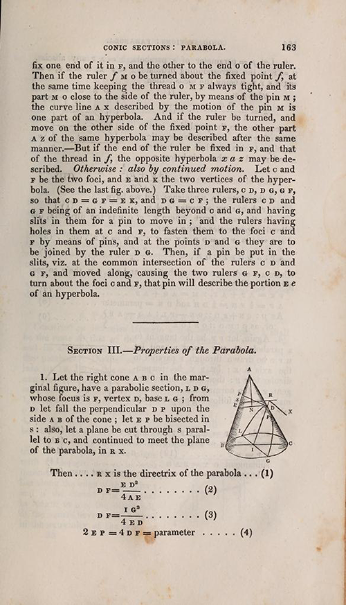 Page 163 from Olinthus Gregory's Mathematics for Practical Men.