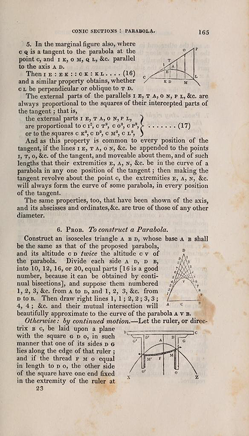 Page 165 of Olinthus Gregory's Mathematics for Practical Men.
