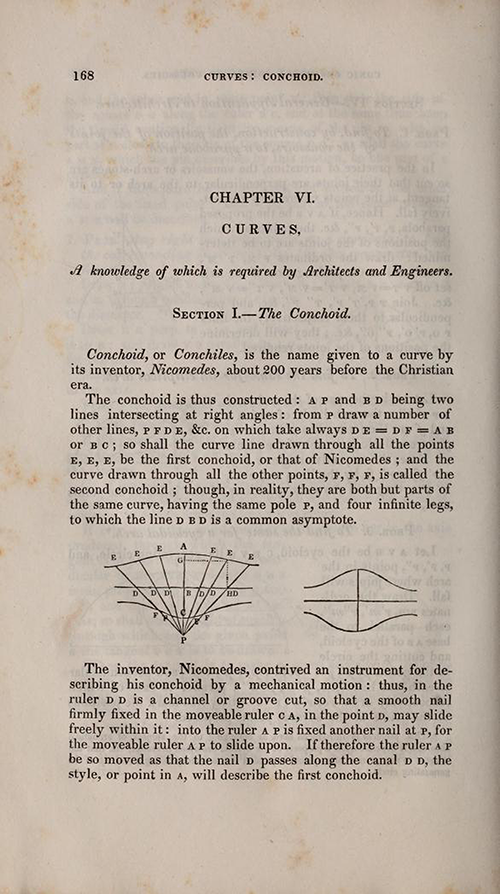 Page 168 of Olinthus Gregory's Mathematics for Practical Men.