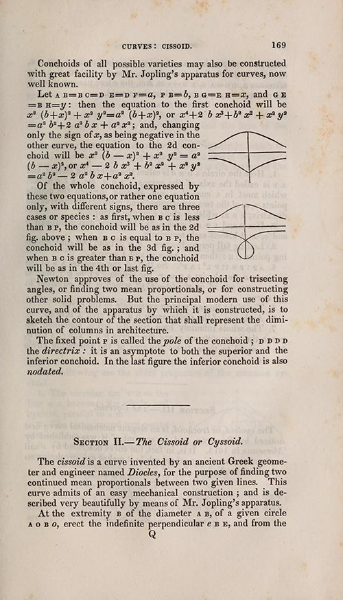 Page 169 of Olinthus Gregory's Mathematics for Practical Men.