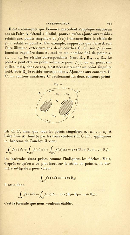 Page seven of the Introduction to Théorie des fonctions algébriques by Appell and Goursat, 1895