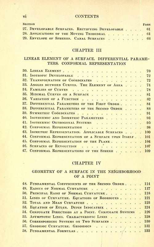 Mathematical Treasure: Eisenhart's Differential Geometry