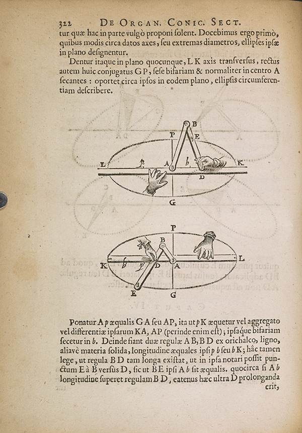 Page 322 from Van Schooten's 1657 Mathematical Exercises.