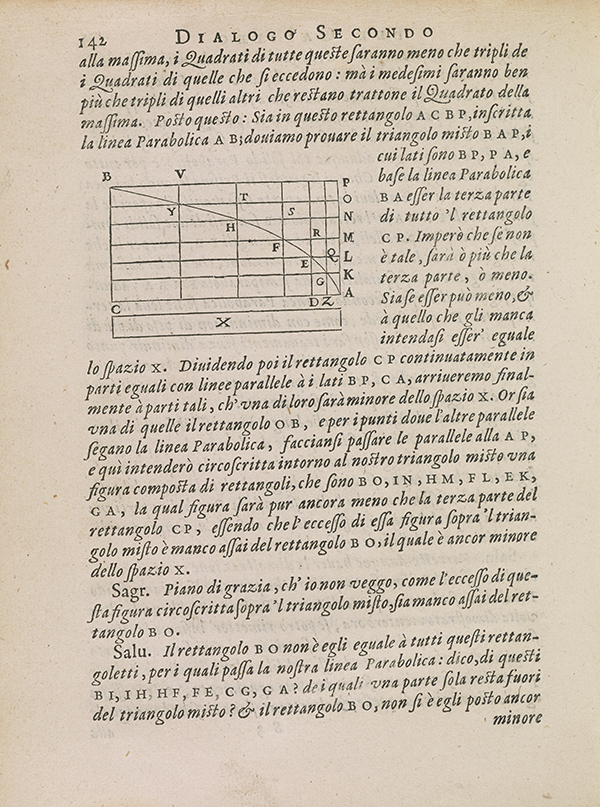 Page 142 of Galileo's 1638 Two New Sciences.