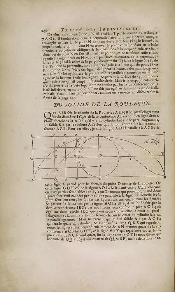 Page 230 from 1693 volume published by French Academy of Sciences.