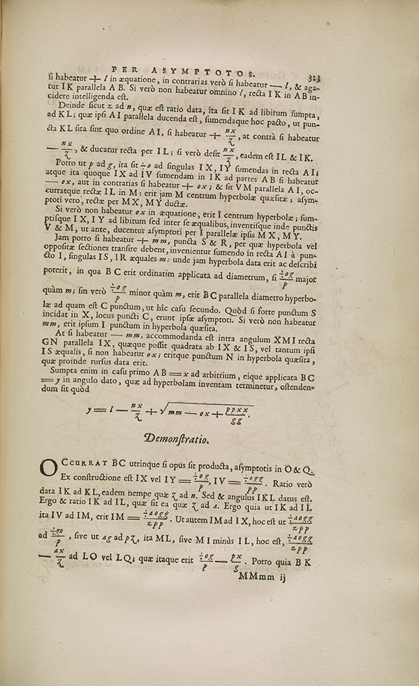 Page 323 from 1693 volume published by French Academy of Sciences.