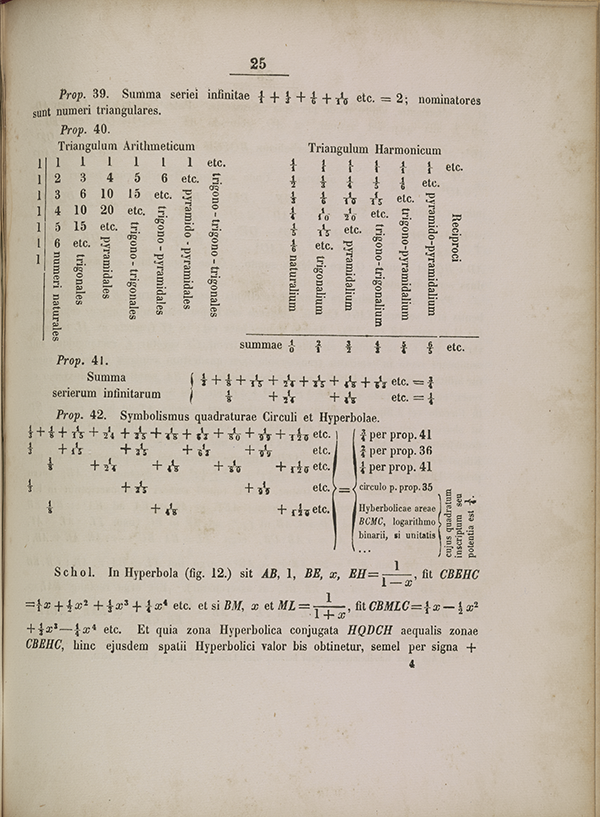 Page 25 of Leibniz's 1674 letter to Huygens.