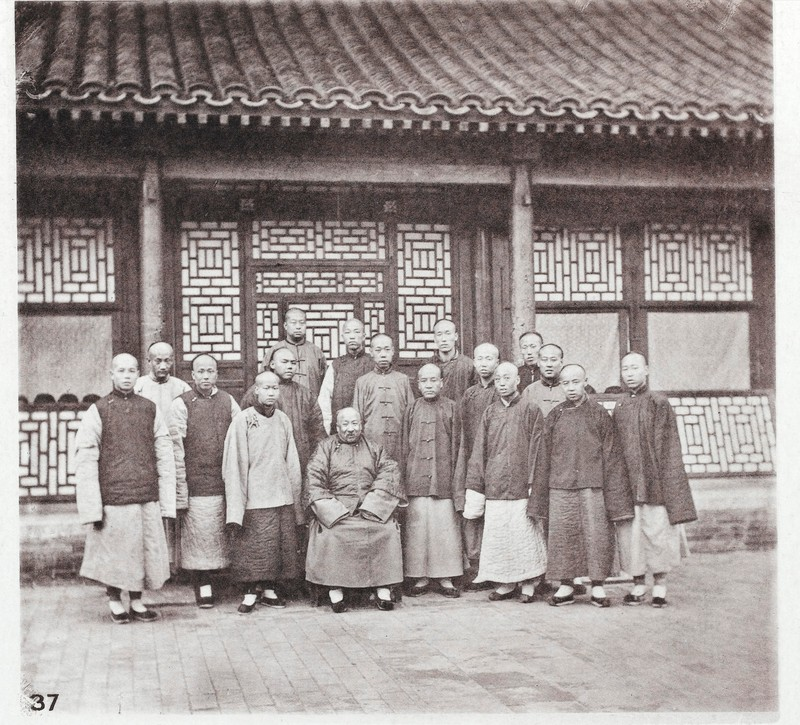 Li Shanlan and pupils at Beijing college, 1868–1870.