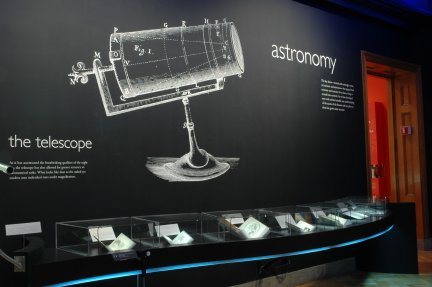 Astronomy room at Huntington