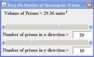 Number of prisims